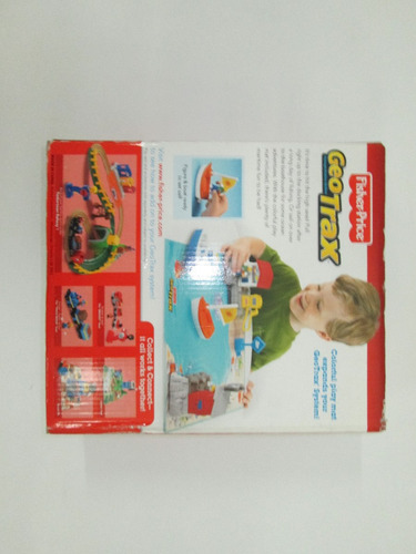 juego juguete didactico barcos geotrax fisher price