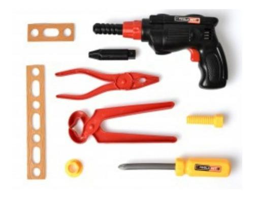 juego juguete herramientas taller 9 piezas nene construccion