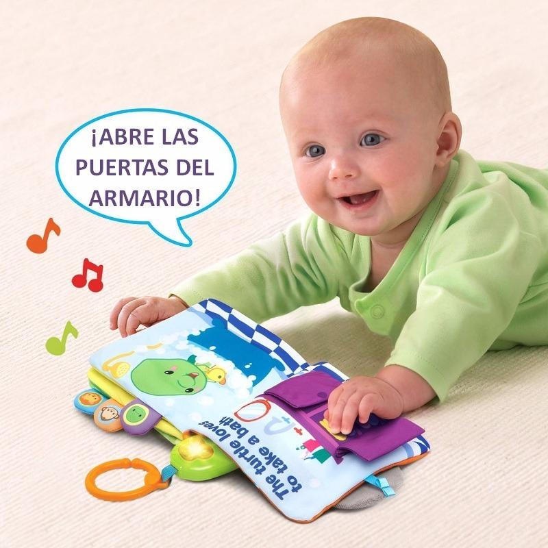 Juguetes Para Bebes De 20 Meses.Juego Juguete Para Bebe De 3 4 5 6 Meses Libro Blandito