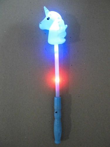 juego juguete varita magica unicornio con luces niñas regalo