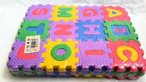 juego juguetes foami bebes sopa letras rompecabezas