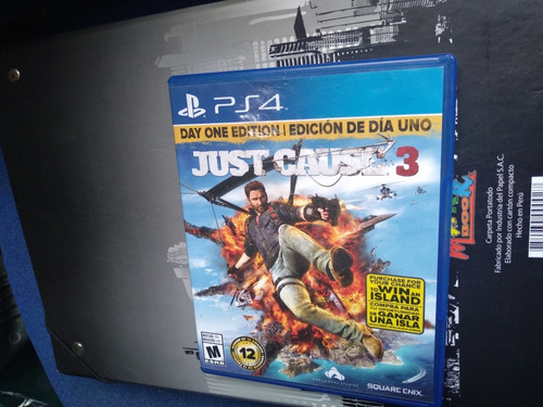 juego just cause 3 ps4