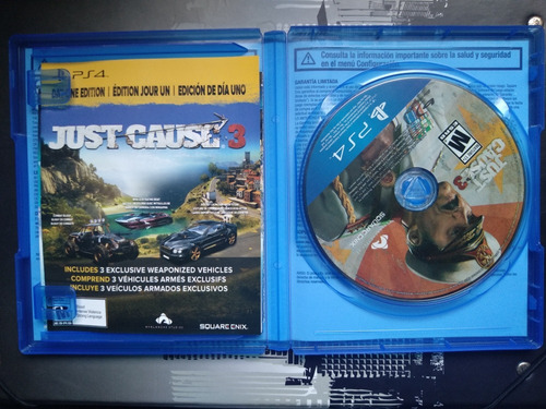 juego just cause ps4