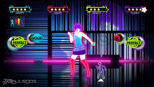 juego just dance wii con