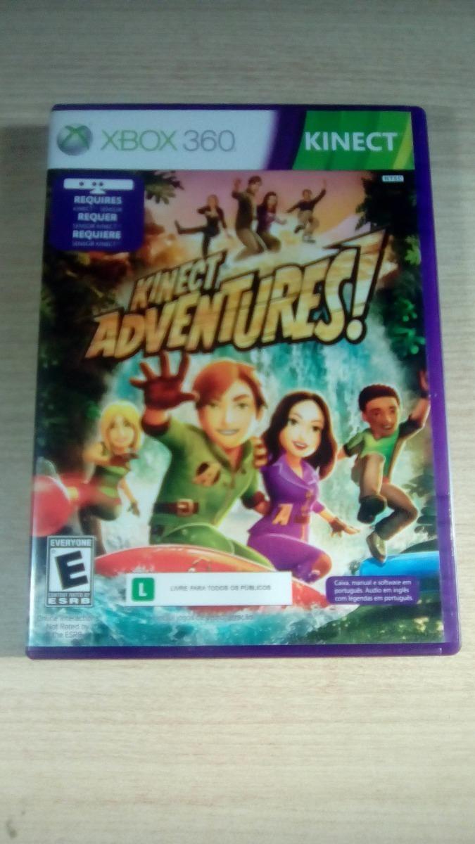 Kinect Xbox 360 Y Juego Kinect Adventure 350 00 En Mercado Libre