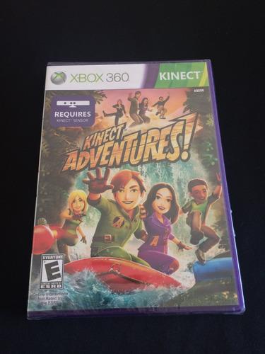 juego kinect adventures! nuevo xbox360 sin abrir el film
