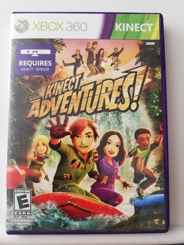 juego kinect adventures xbox 360 usado