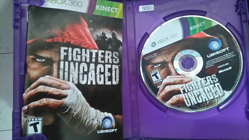 juego kinect fighters uncaged