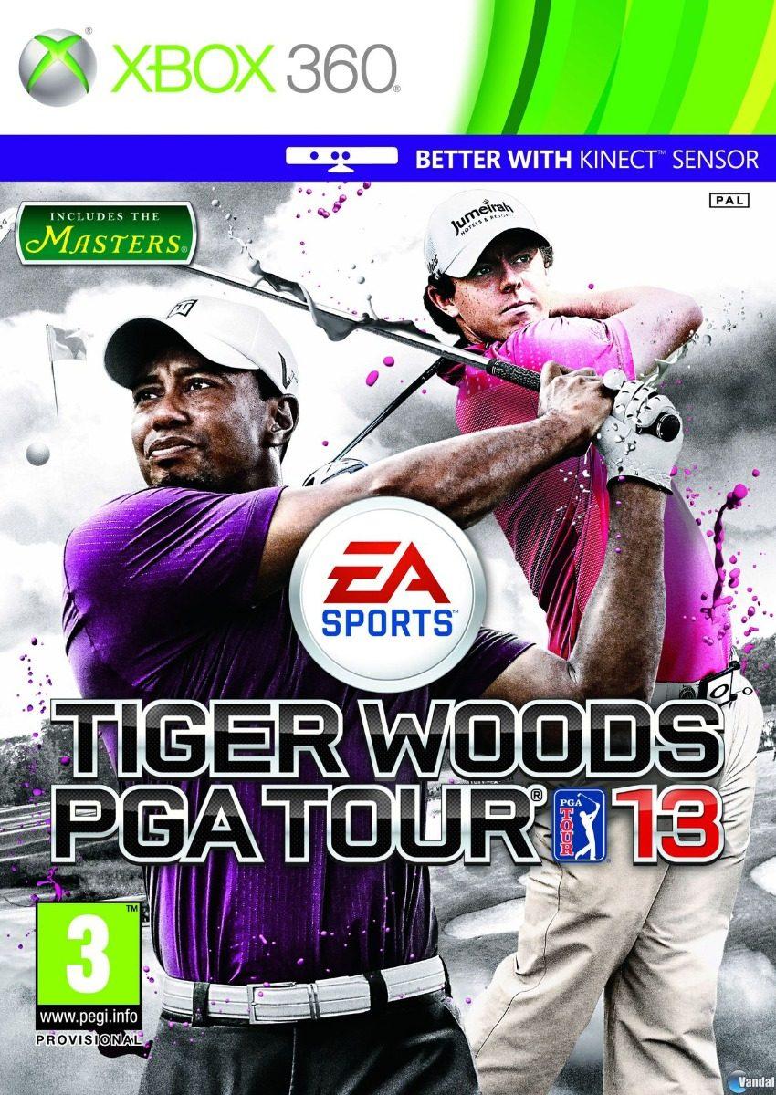Juego Kinect Golf Tiger Woods Pga Tour 13 Xbox 360 Tienda Bs