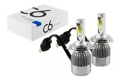 juego kit cree led h1 h4 h7 h11 36w 16000lm con cooler