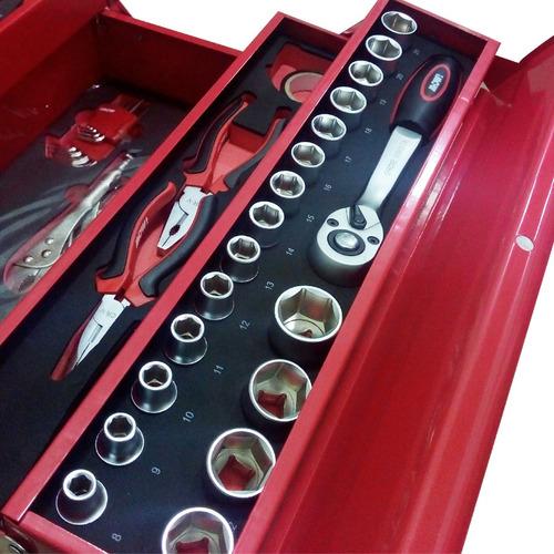 juego kit herramientas en maletin set 88 piezas profesional