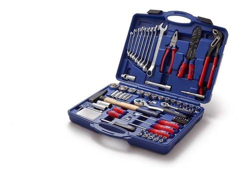 juego kit herramientas llaves tubos 100 piezas bremen 6629