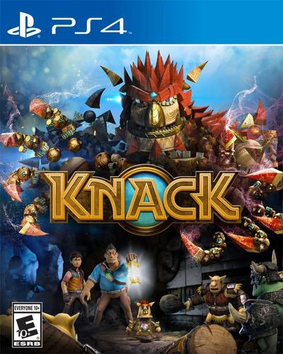 juego knack ps4