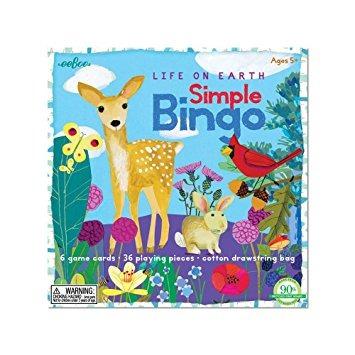 Juego La Vida En La Tierra Juego De Mesa Para Ninos Bingo 56 699