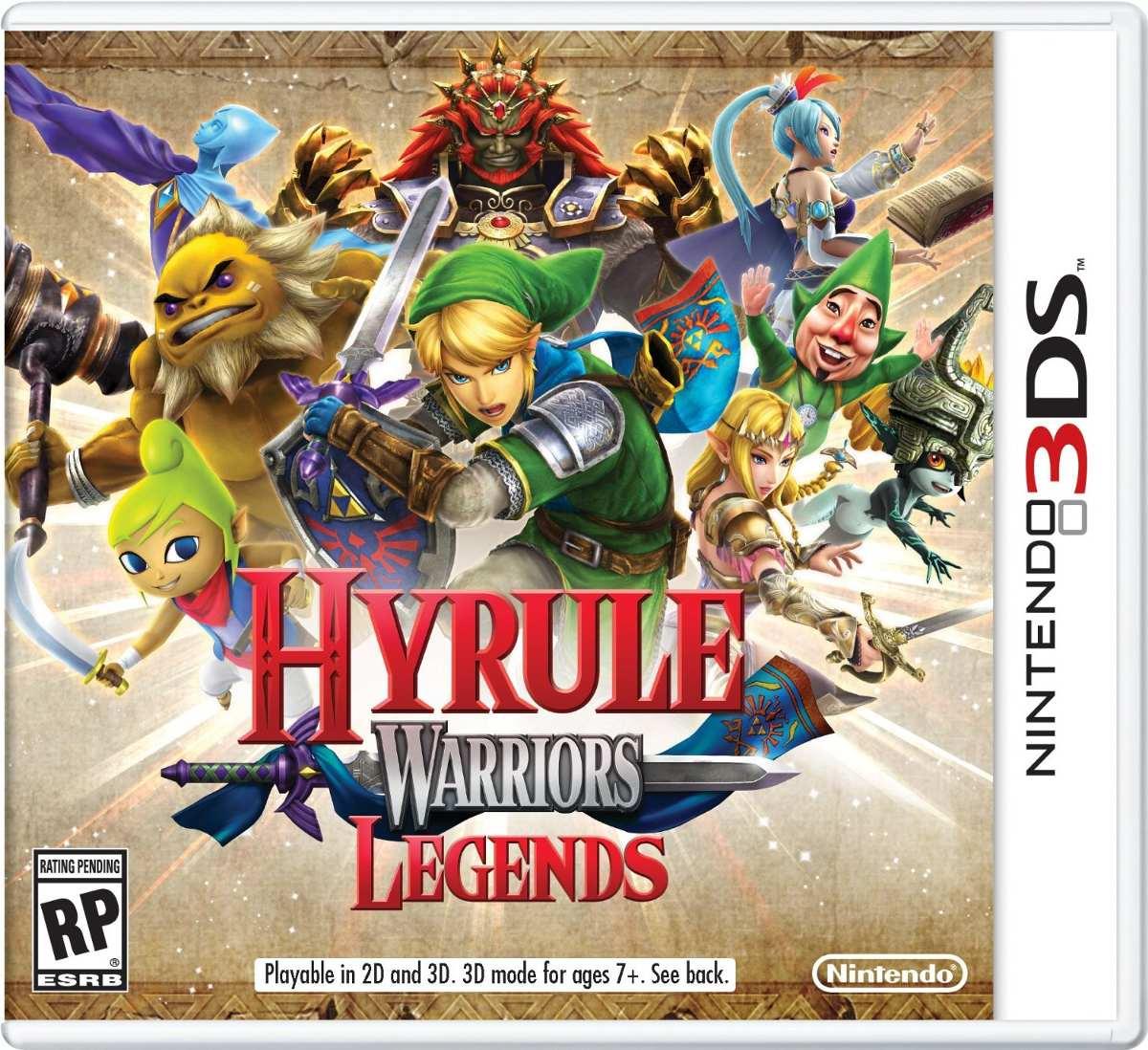 Juego Legend Of Zelda Hyrule Warriors Legends 3ds Nintendo