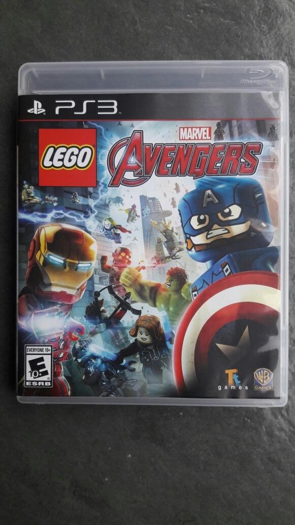 Juego Lego Avenger Para Ps3 13 500 En Mercado Libre