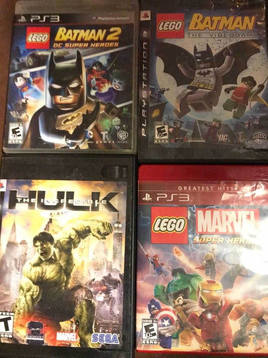 Juego Lego Batman 2 Play Ps3 Fisico Usado Muy Buen Estado 370 00
