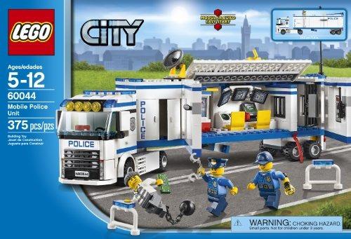 Juego Lego City Police Unidad Movil De Policia Envio Gratis