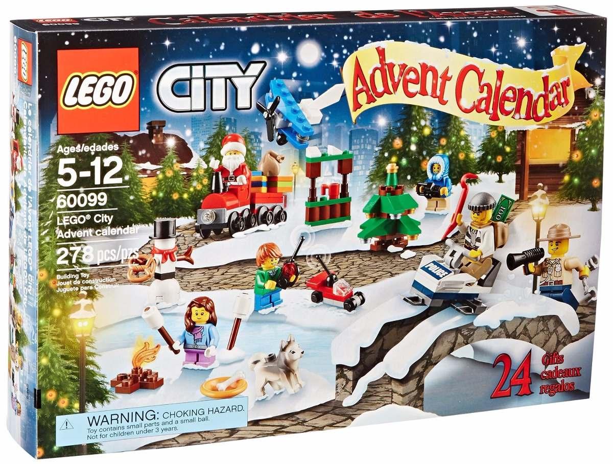 Juego Lego City Town 60099 Advent Calendar Building Kit 1 695 00