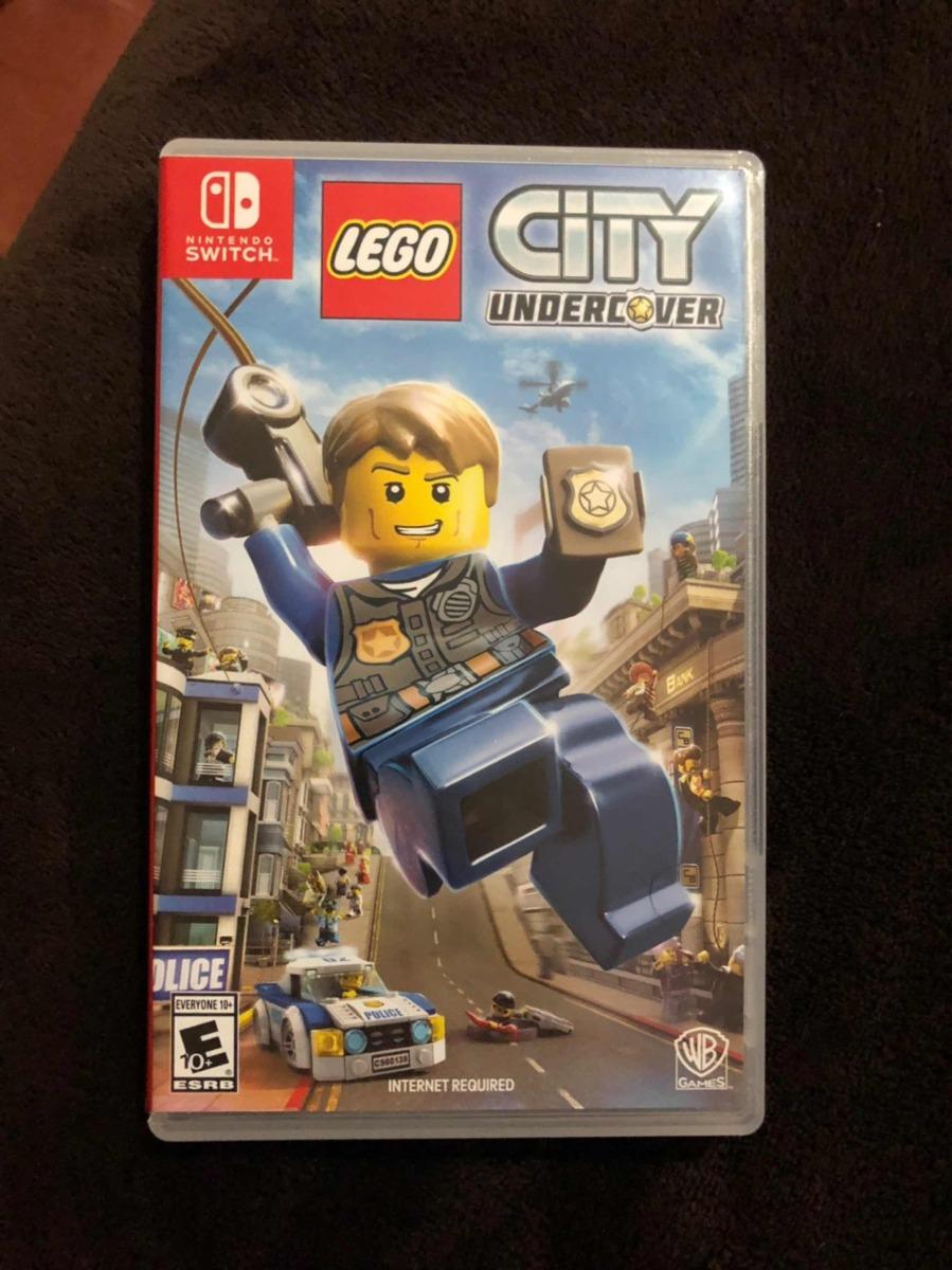 Juego Lego City Undercover Para Nintendo Switch 1 000 00 En