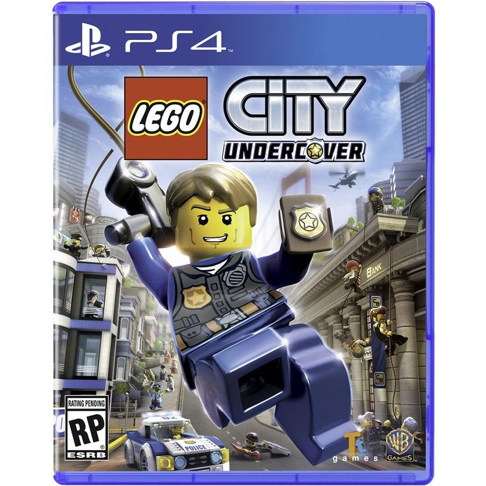 Juego Lego City Undercover Ps4 Playstation 4 Nuevo Fisico