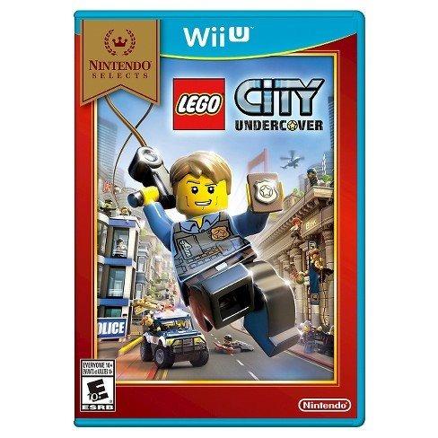 juego lego city undercover wiiu nuevo sellado