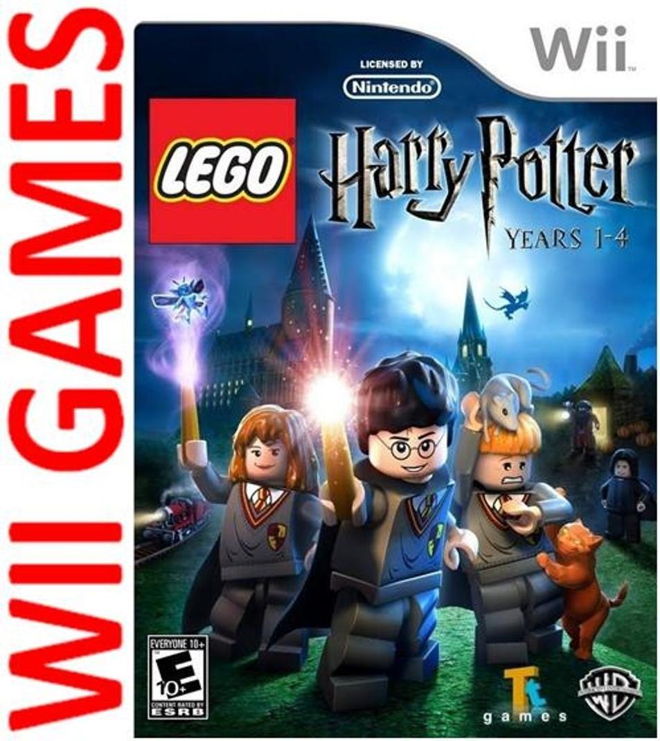 Juego Lego Harry Potter Years 1 4 Original Wii Wii U Espanol 335