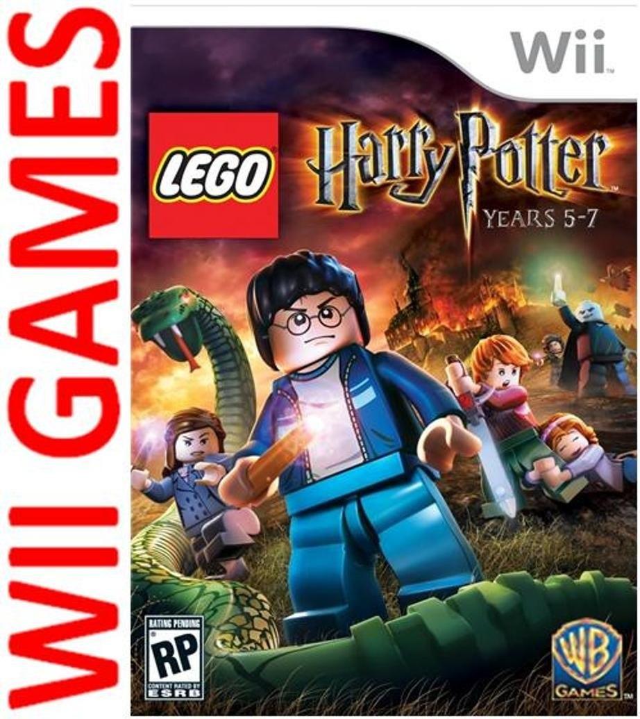 Juego Lego Harry Potter Years 5 7 Original Wii Wii U Espanol 380