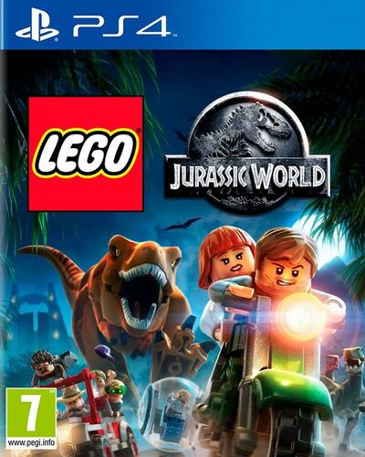juego lego jurassic world ps4