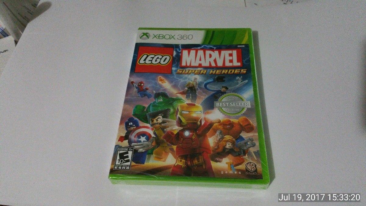 Juego Lego Marvel Para Xbox 360