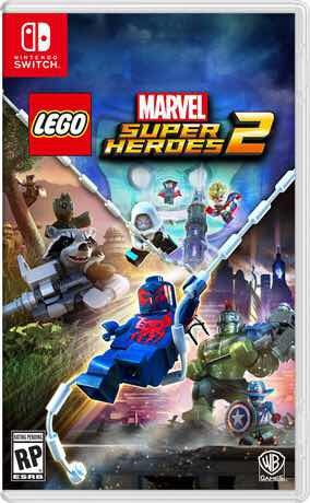 Juego Lego Marvel Super Heroes 2 Nintendo Switch Fisico 2 800 00