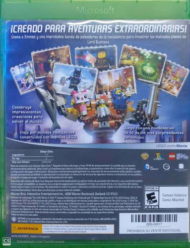 juego lego movie videogame para xbox one
