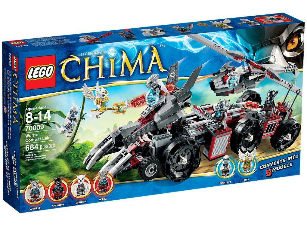 Juego Lego Para Armar Guarida De Combate Worriz 70009 1 950 00