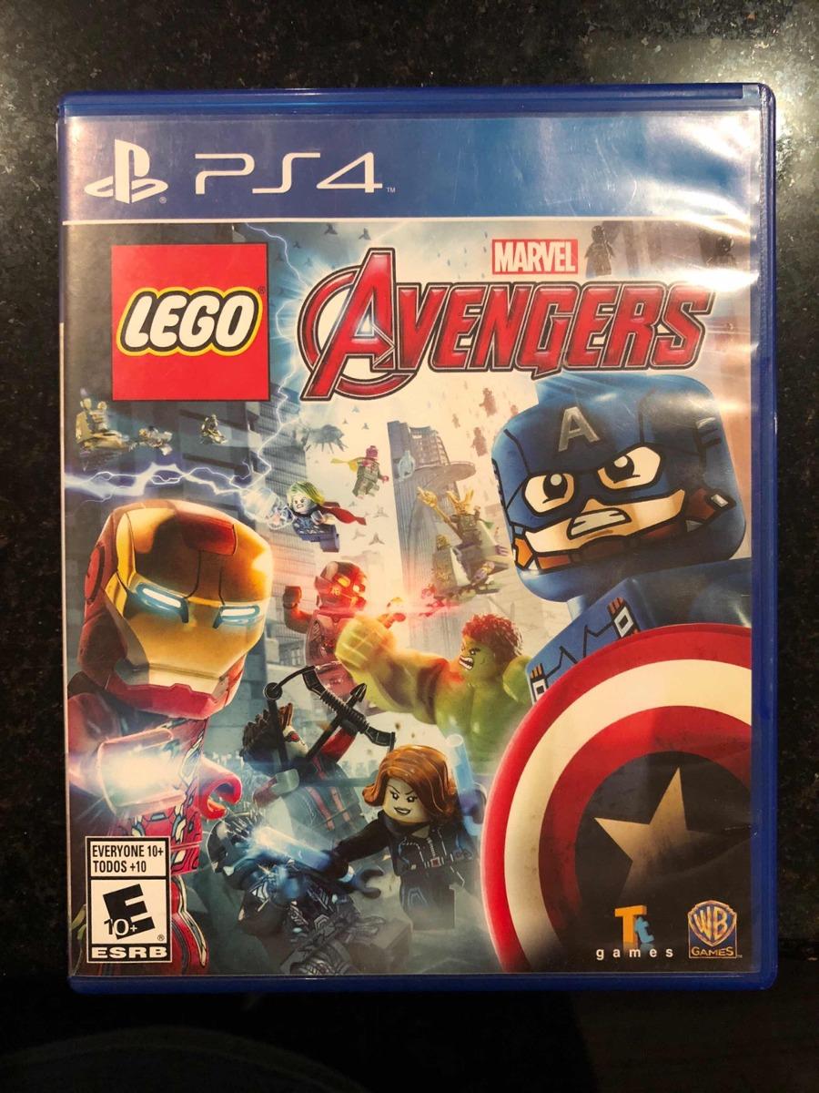 Juego Lego Ps4 Avengers 400 00 En Mercado Libre