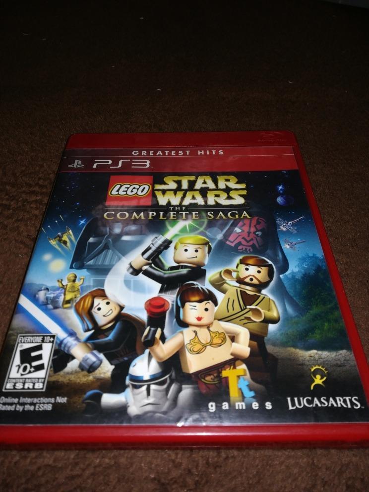 Juego Lego Star Wars The Complete Saga Para Ps3 5 000 En Mercado