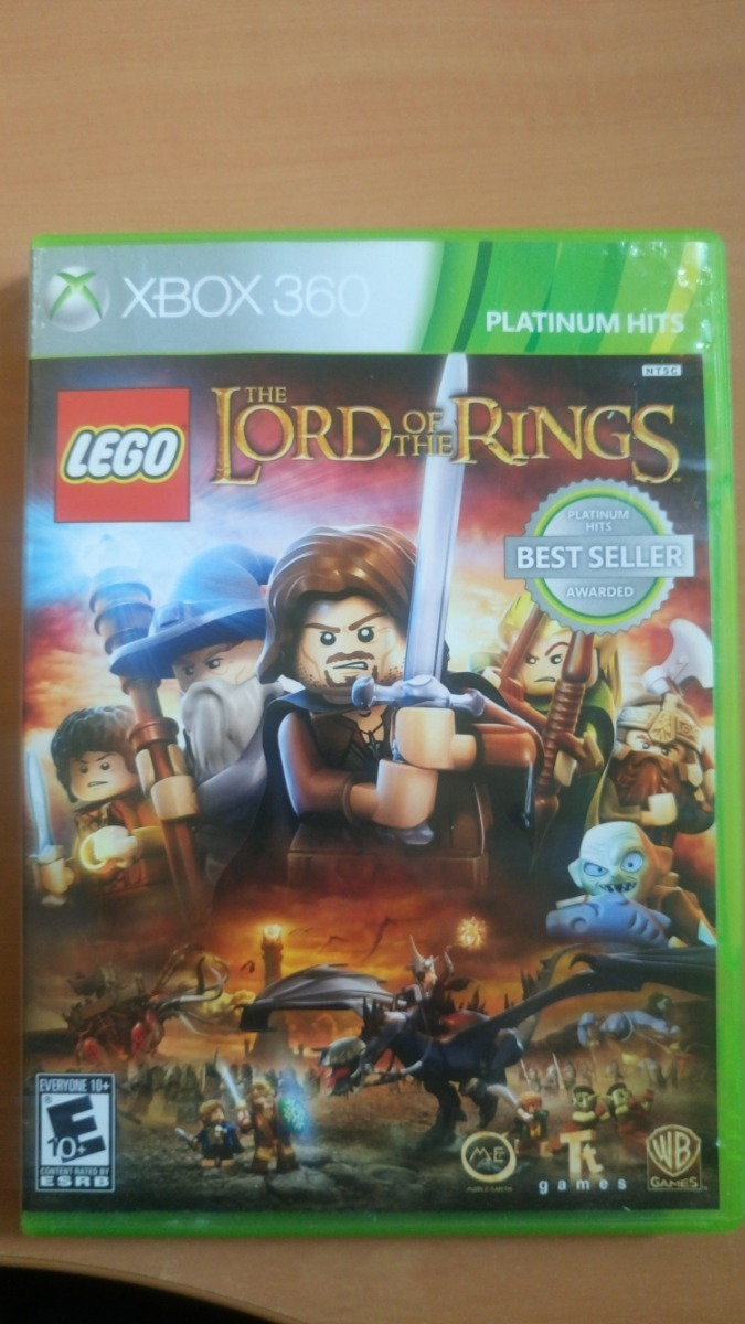 Juego Lego The Lord Of The Rings Para Xbox 360 350 00 En Mercado