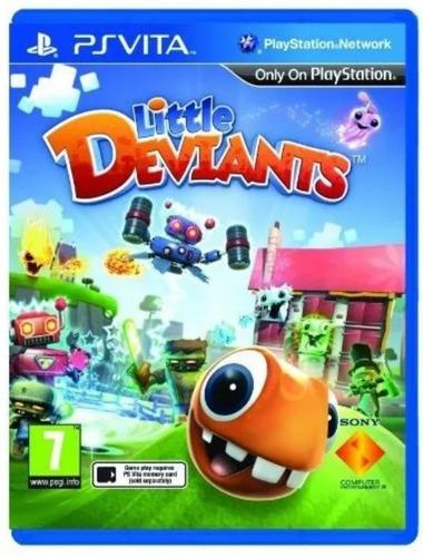 juego little deviants - ps vita