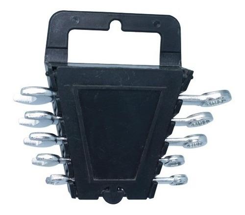 juego llave mixta x 5 piezas mm 8.10,11,12,13 mm plastico co