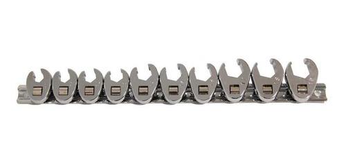 juego llave patas cabra abiertas 10 piezas cromo vanadio
