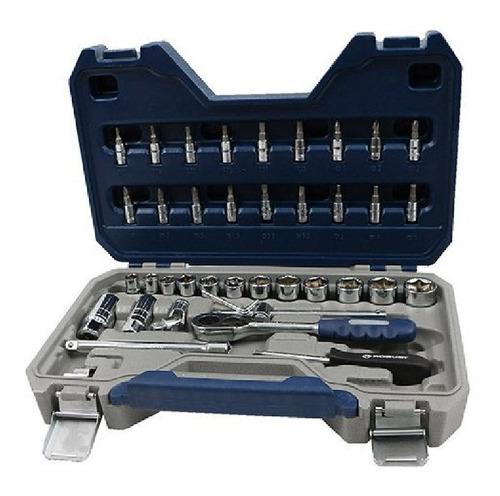 juego llaves y tubos 43 piezas robust