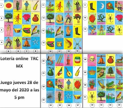 juego lotería en línea trc mx