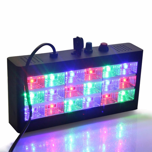 juego luces dj fiesta audioritmicas para dj nuevos laser led