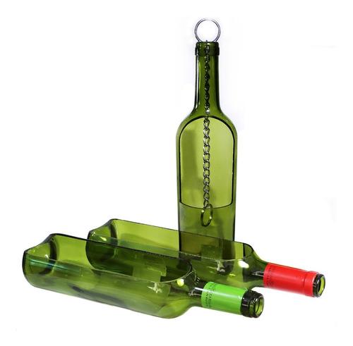juego macetas colgantes y verticales reciclaje de botellas