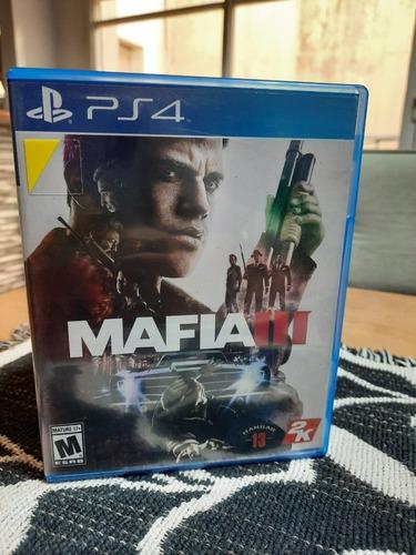 juego mafia iii original usado