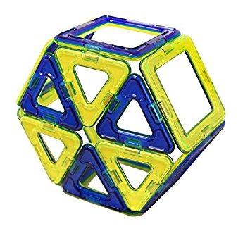 juego magformers conjunto clásico (14 piezas)