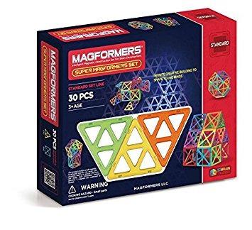 juego magformers estándar super magformers set (30 piezas)