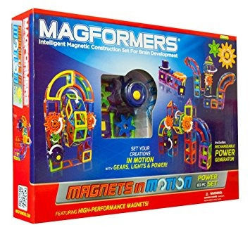 juego magformers imanes en movimiento 83 pieza power set