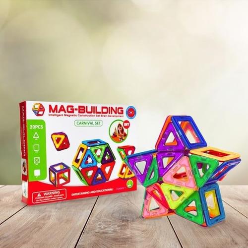 juego magnético 20 piezas