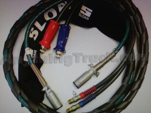 juego mangueras y cable espiral                 155