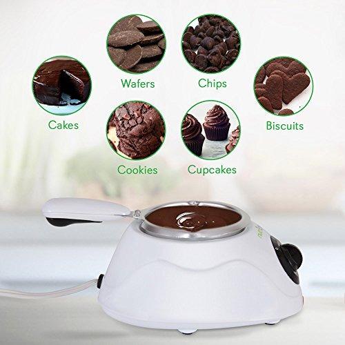 juego maquina de fundido-calentador electrico  chocolate 25w